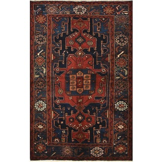 Vintage Persian Hamadan Rug - 4'6'' X 7' For Sale