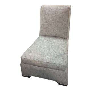 Caracole Upholstery Slip Accent Chair For Sale