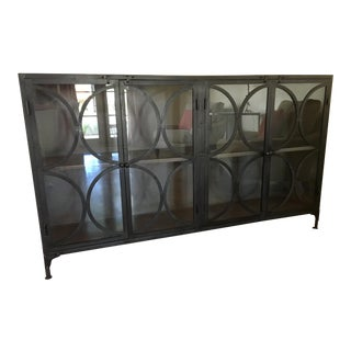 Handcrafted Sheet Steel Sideboard For Sale