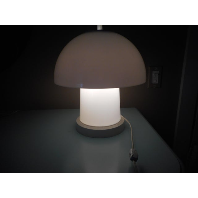 Mid-Century Mushroom Lamp For Sale In Tampa - Image 6 of 6