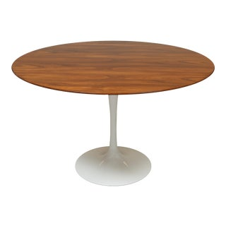Wood Veneer Top Knoll Tulip Table