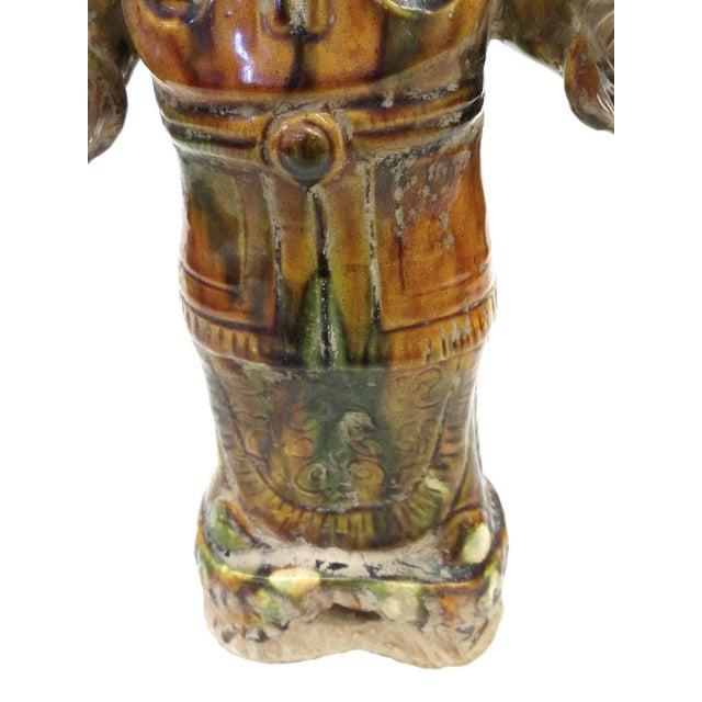 Chinese Sancai-Glazed Lokapala Figure For Sale - Image 7 of 10