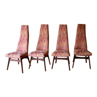 Adrian Pearsall Mid Century Modern Dining Chairs, Set of 4 For Sale