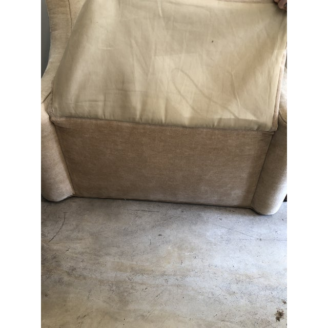 Modern Upholstered Lounge Chairs- A Pair For Sale - Image 12 of 12