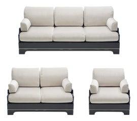 Image of Black Sofas