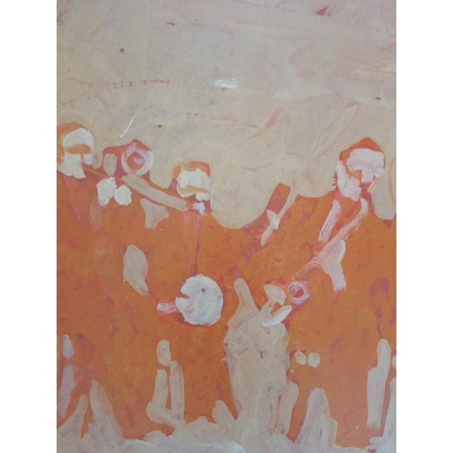 Mid Century Bay Area Figurative Musicians Painting - Image 3 of 10