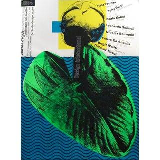 2014 Original Semaine d'Etudes Poster, Eyes - Alfred Halasa For Sale