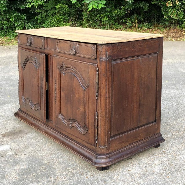 French Provincial Early 19th Century French Provincial Buffet For Sale - Image 3 of 13