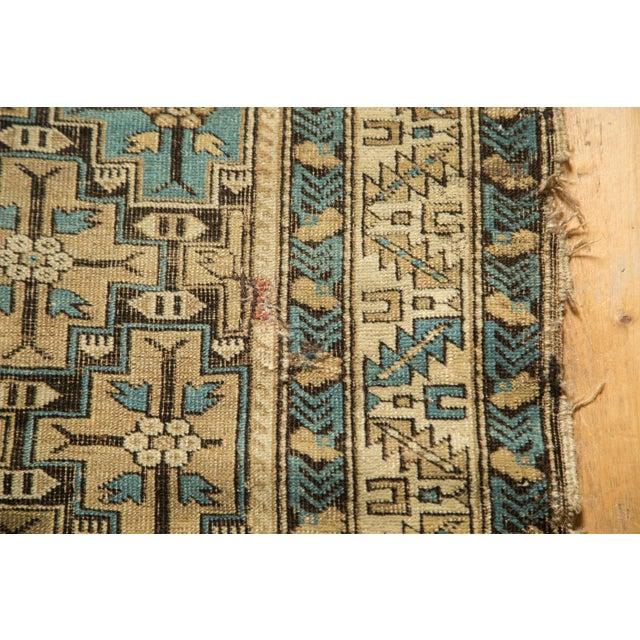 "Textile Antique Caucasian Rug - 3'6"" x 4'10"" For Sale - Image 7 of 10"