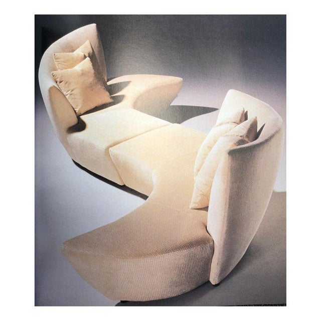 Five Piece Sectional Sofa by Vladimir Kagan for Preview For Sale - Image 12 of 13