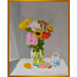 """Medium """"Morning Table"""" Print by Anne Carrozza Remick, 30"""" X 36"""""""