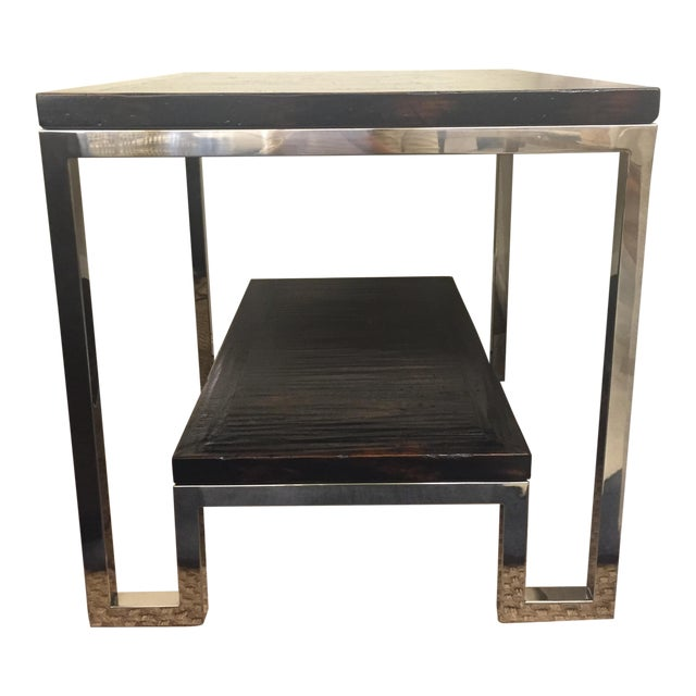 Artistica Modern Metal End Table - Image 1 of 7