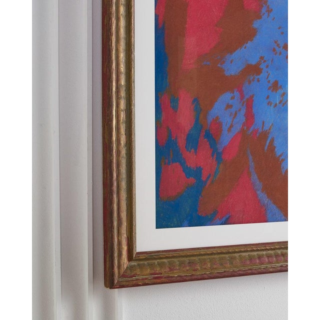 Colorful Chalk Pastel Abstract by Oscar Murillo For Sale - Image 4 of 8