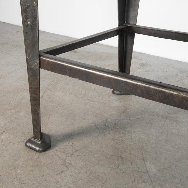 Rustic European Mid-20th Century Industrial Czech Table For Sale - Image 3 of 7