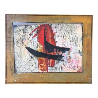 Abstract Painting Collage by Ronald Ahlstrom