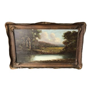 Richard DeTreville Landscape Oil Painting For Sale