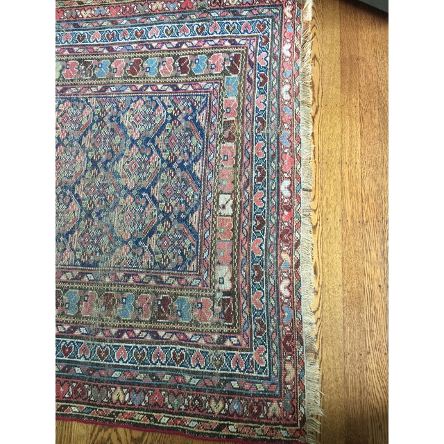 "Vintage Traditional Carpet Runner - 4'2"" x 10'4"" - Image 7 of 7"