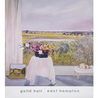 """Siesta Guild Hall"" Poster by Jane Freilicher For Sale"