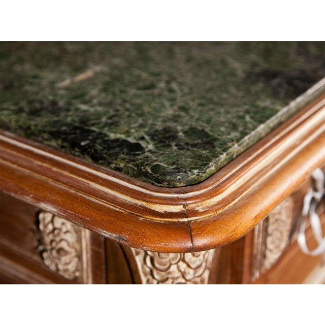French Empire Style Marble-Top Sideboard For Sale - Image 4 of 9