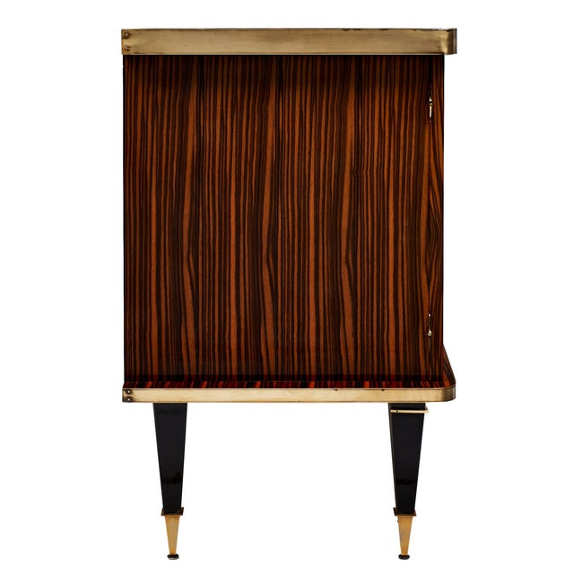 Mid-Century Macassar French Buffet For Sale - Image 9 of 11