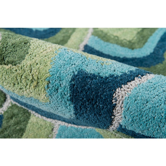 Madcap Cottage Embrace Cloud Club Green Area Rug 5' X 8' For Sale - Image 4 of 8