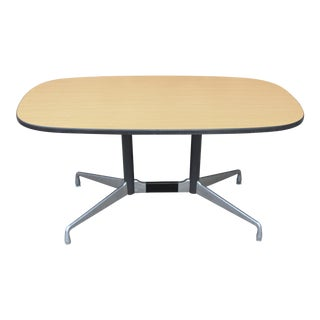1980s Mid-Century Modern Eames Herman Miller Modular Group Conference Table For Sale