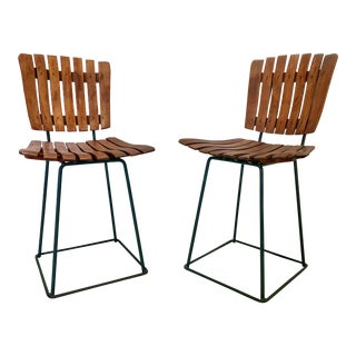 Arthur Umanoff Cafe Chairs - a Pair For Sale