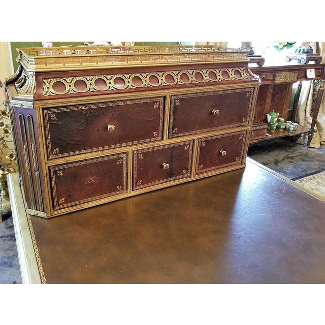 Paul Sormani 19th Century Louis XVI Style Desk by Paul Sormani For Sale - Image 4 of 13