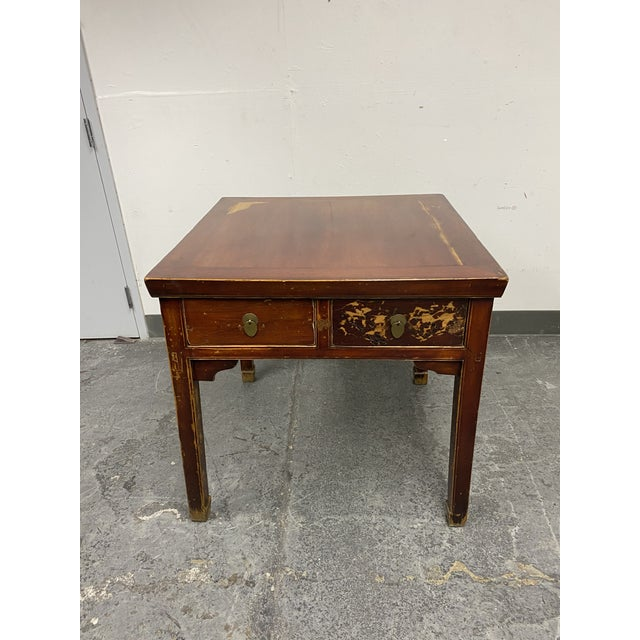 Mid 20th Century Chinese Game Table For Sale - Image 11 of 11