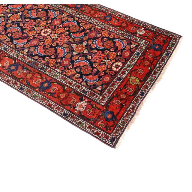 Antique Persian Malayer Runner with Modern Style For Sale - Image 4 of 9