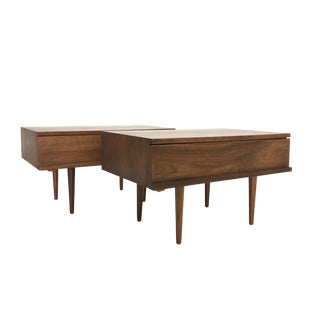 Mel Smilow Mid Century Modern Side Tables - a Pair For Sale