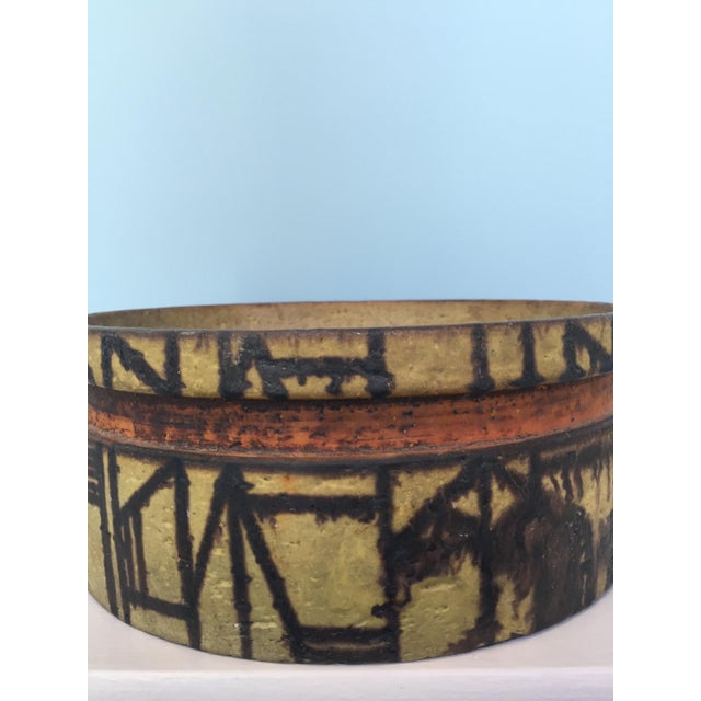 Marcello Fantoni Marcel Fantoni Ceramic Fruit Bowl For Sale - Image 4 of 6