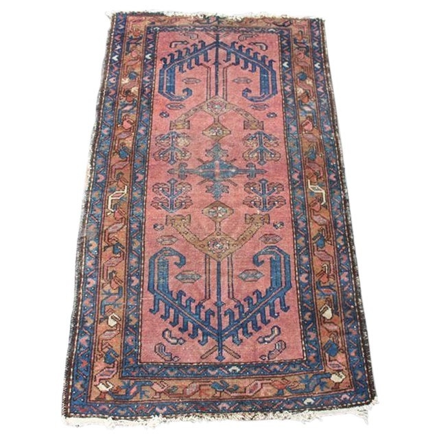 "Antique Persian Balouch Rug - 2'10"" x 5' - Image 1 of 8"