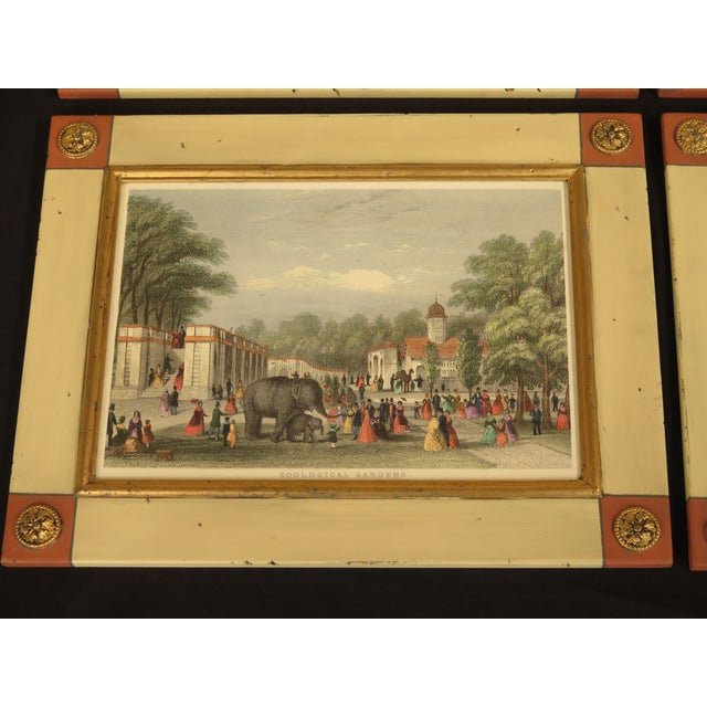 Set 4 W. KING Ambler 'London Views' Framed Prints Age: Approx: 20 Years Old Details: High Quality Construction Nice...