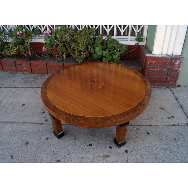 Antique Coffee Tables Ireland: Vintage Asian Style Round Coffee Table