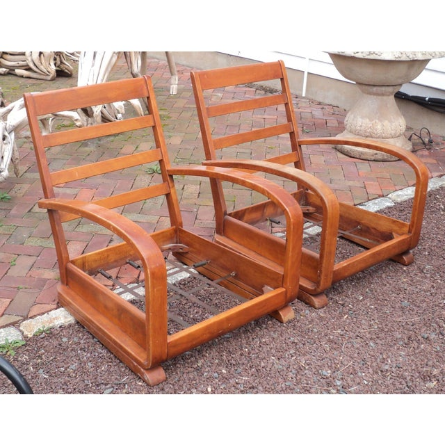 Mid-Century Club Chairs - A Pair - Image 6 of 11