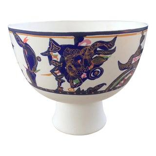 Gilbert Portanier French Caramist Rosenthal Bowl For Sale