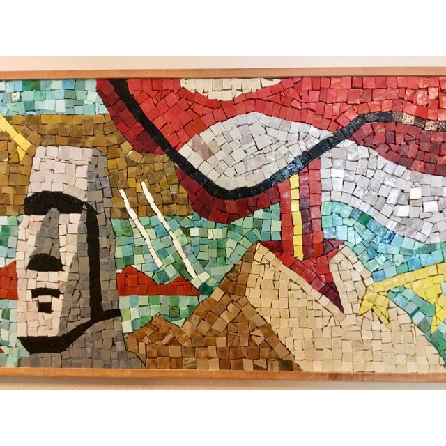 Easter Island Mosaic For Sale - Image 6 of 8