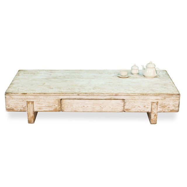 Sarreid Ltd Perth White Coffee Table - Image 6 of 8