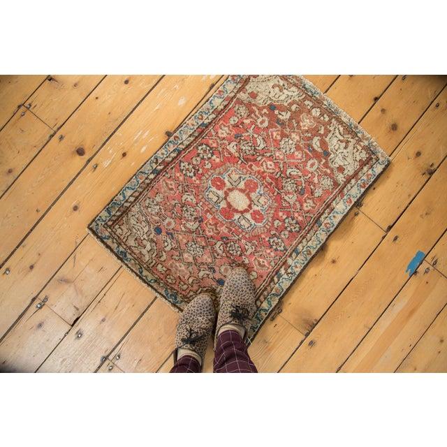 "Old New House Vintage Fine Dargezine Square Rug - 2' X 2'7"" For Sale - Image 4 of 9"
