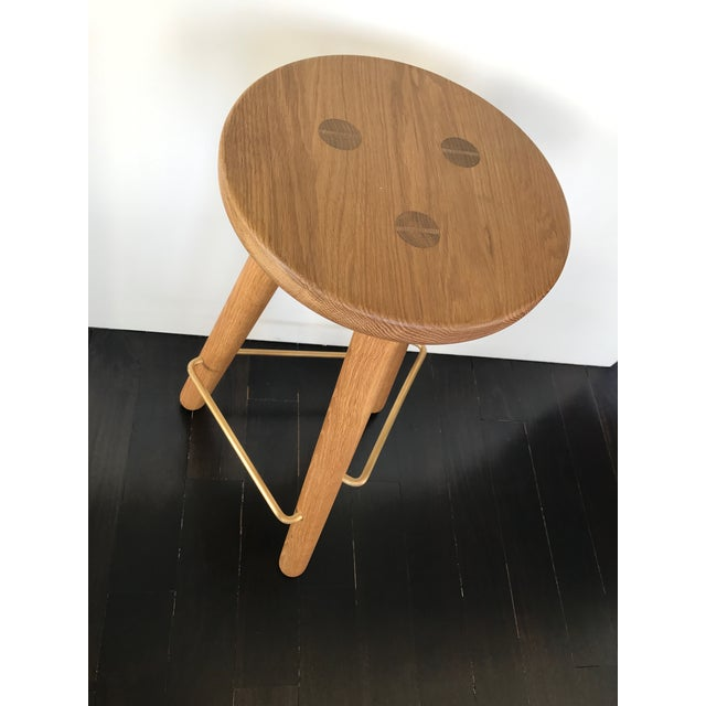 Another Country Oak Counter Stools - Set of 3 - Image 3 of 4