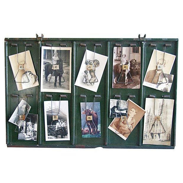 Antique Photo & Memorabilia Display Board - Image 1 of 3