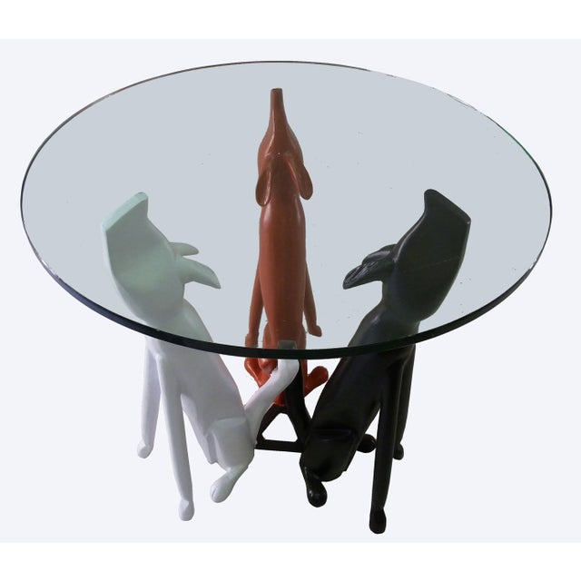 Monteverdi Young Dog Trio Base Table in Aluminum - Image 2 of 7