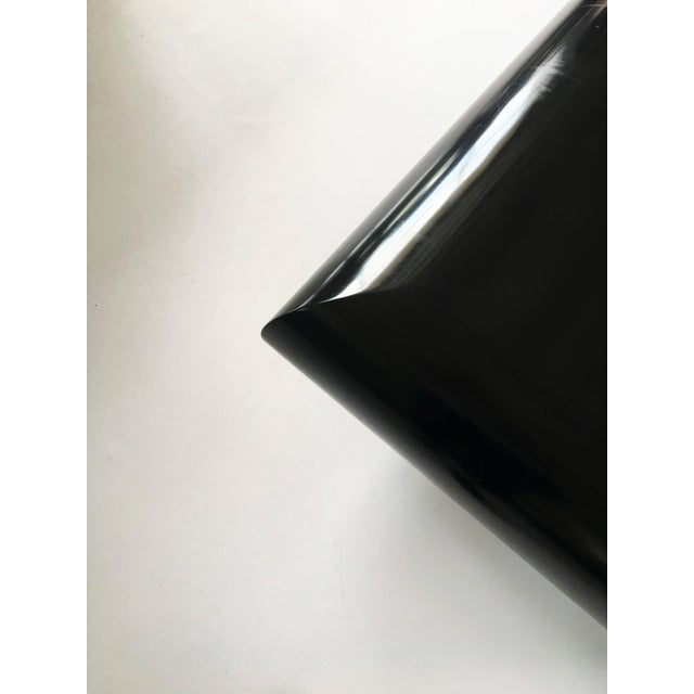 Spectacular Karl Springer Lacquer Coffee Table For Sale In Dallas - Image 6 of 10