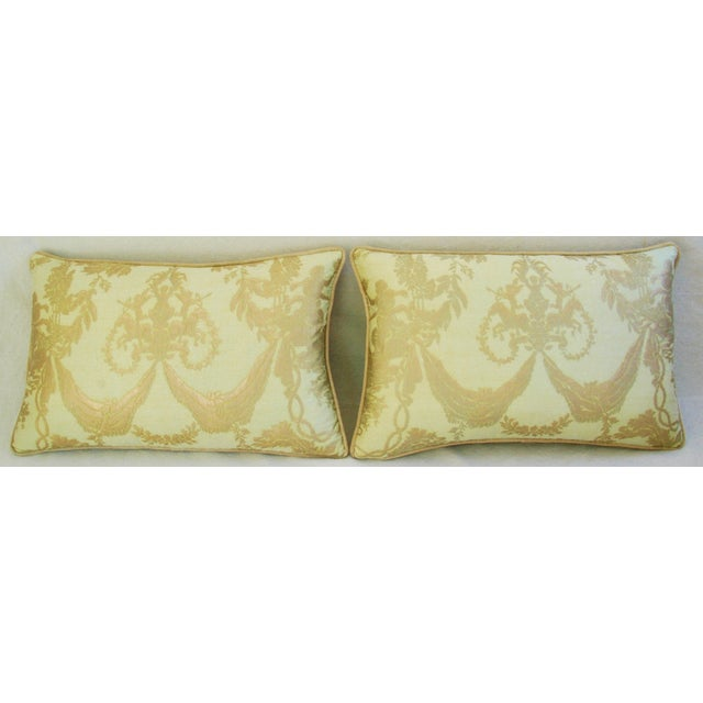 Italian Mariano Fortuny Boucher Pillows - A Pair - Image 3 of 11