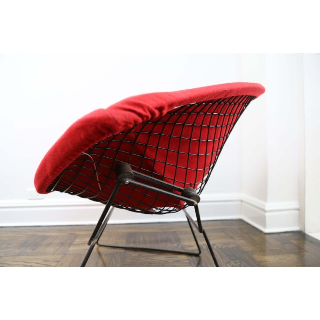 Mid 20th Century Mid-Century Modern Harry Bertoia for Knoll Diamond Chair For Sale - Image 5 of 8
