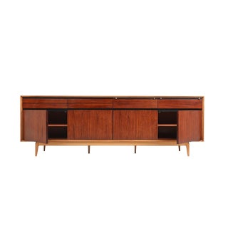 De Coene Madison Credenza in Rosewood and Walnut - 1970s For Sale