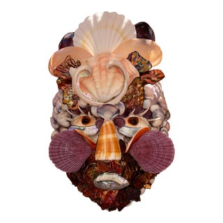 Contemporary Organic Modern Shell Mask For Sale