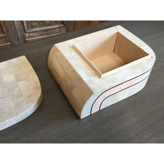 Mid-Century Modern Maitland Smith Tessellated Stone Box Preview