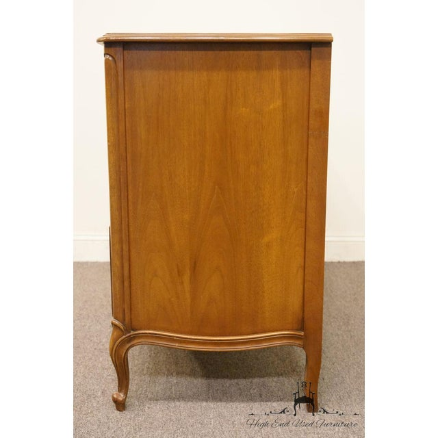 "Brown 20th Century Traditional Drexel Bordeaux Collection 54"" Double Dresser For Sale - Image 8 of 13"